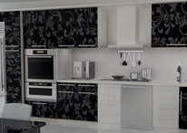 High gloss MDF and acrylic board panels from our supplys: Kitchen: Selćuk