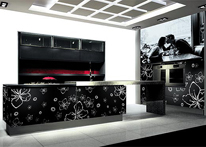 High gloss MDF and acrylic board panels from our supplys: Kitchen: Fantazia
