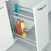 Aluminium Detergent Holder Wit Bottom Rail 2