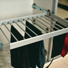 Aluminium Trouser Rack With Side Mounted Telescopic Rail (Tie - Belt Rack) 2