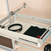 Aluminium Drawer With Side Mounted Telescopic Rail 2