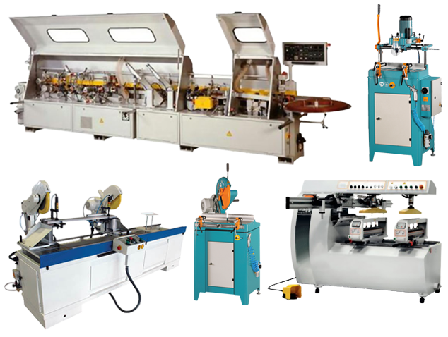machines for material processing
